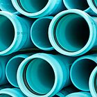 Blue Pipes by Dawn Crouse