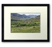 Macgillycuddy's Reeks, Killarney National Park, Co. Kerry, Ireland Framed Print