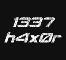 Leet Haxor 1337 Computer Hacker by TheShirtYurt