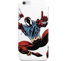 Spider-Man Unlimited - Ben Reilly the Scarlet Spider iPhone Case/Skin