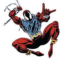 Spider-Man Unlimited - Ben Reilly the Scarlet Spider Photographic Print