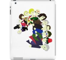 The 13 Puppet Doctors iPad Case/Skin