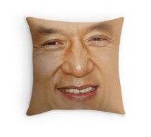 Jackie Chan  Throw Pillow