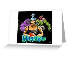 The MonStars Greeting Card