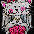 Bride To Be Kitty by LisaLorenz