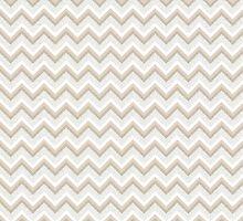 Gold Glitter Chevron Pattern by phantomprint