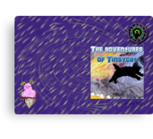 The adventures of Tinsycat, a children's picture book Canvas Print