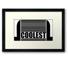 Intercooler - Coolest Framed Print