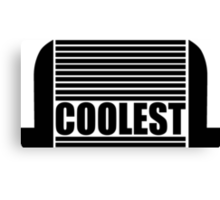 Intercooler - Coolest Canvas Print
