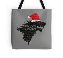Thrones Christmas: Holidays are Coming Tote Bag