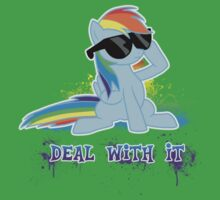 My Little Pony Raindow Dash - Deal With It Kids Clothes