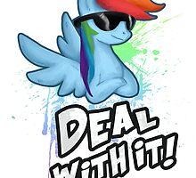 Rainbow Dash Deal With It by Kaiserin