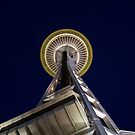 Seattle Space Needle by Steve Falla