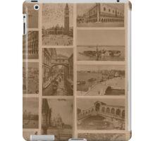 Vintage Venice Lagoon iPad Case/Skin