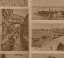Vintage Venice Lagoon Sticker
