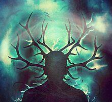 Deer Dreams II by Sybille Sterk