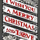 Greeting Card Text on Blackboard by aurielaki