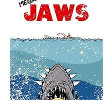 Mega - Jaws by Jailbreakarts