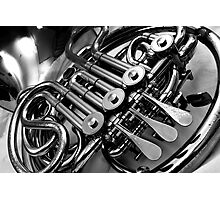French Horn Photographic Print