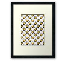 Pint Pattern Framed Print