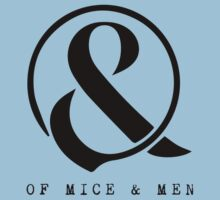 Of Mice & Men Ampersand Logo Merch Kids Clothes