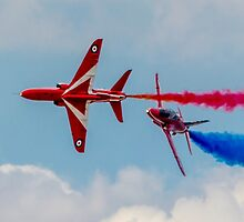 Red Arrows 10 by David Charlton