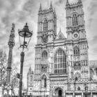 Westminster Abbey in Black & White by Michael Matthews