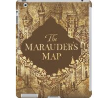 Distressed Maps: Harry Potter Marauder's Map iPad Case/Skin
