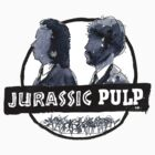 Jurassic Pulp Official T-Shirt (Jurassic Park / Pulp Fiction) by dotgumbi