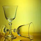 Wine Glass. by Aussiebluey