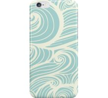 Wave Swirl Pattern  iPhone Case/Skin