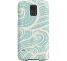 Wave Swirl Pattern  Samsung Galaxy Case/Skin