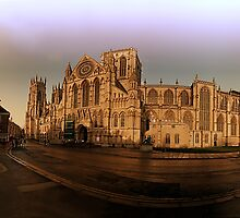 York minster in the wide by Robert Gipson