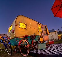 Red Umbrella by Steve Walser