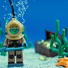 Lego Deep Sea Diver by Kevin  Poulton - aka 'Sad Old Biker'