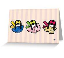 Three Maiko   Greeting Card