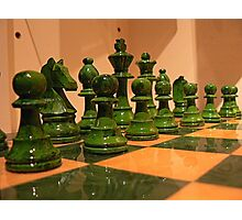 #46    Chess Pieces Photographic Print