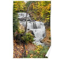 Sable Falls in Michigan's Pictured Rocks National Lakeshore Poster