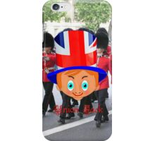 Toon Boy 11b Union Jack iPhone case design iPhone Case/Skin