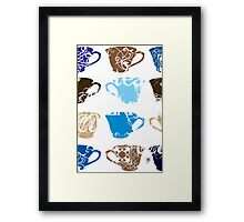 Clean Cup Move Down Framed Print