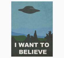 I WANT TO BELIEVE - X-FILES by TurtlesSoup