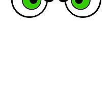 Angry Eyes - Green by cpotter