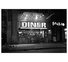 American Diner Photographic Print