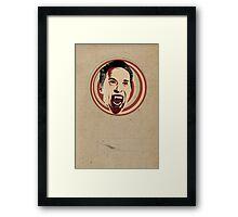 Dr Acula. Framed Print