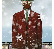 The Christmas Son of Man by SixPixeldesign
