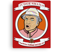 Caddyshack - Judge Smails Canvas Print