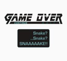 Metal Gear Solid : GAME OVER Kids Clothes