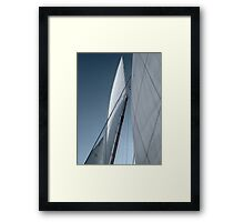 Thinking in Threes Framed Print
