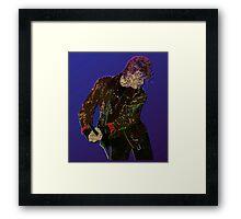 Bowie Guitar 1 Framed Print