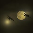Bombers Moon  by larry flewers